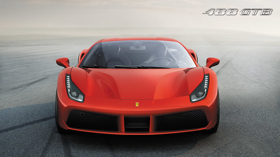 Lançamento Ferrari F488 GTB